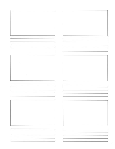 free coloring pages of storyboard template