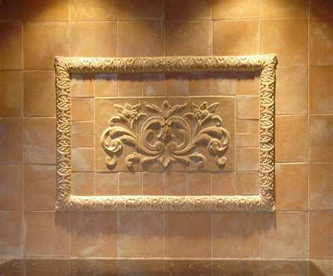decorative ceramic tile inserts with backsplash sstone