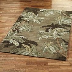 palm tree area rug new gorgeous tufted 100 new zealand blue wool area