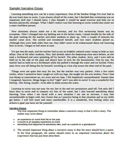descriptive essay sle about an event narrative essay sle pdf 28 images sle introduction of