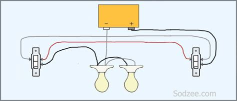 ceiling wiring with two way switching cable