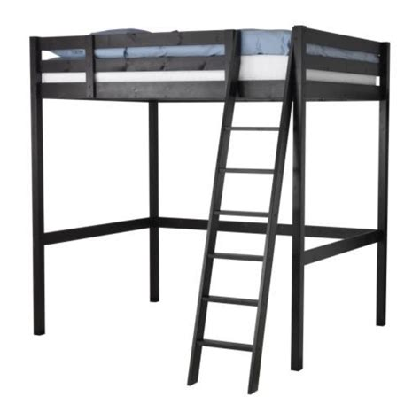 Storå Loft Bed Frame Black Pinterest Discover And Save Creative Ideas