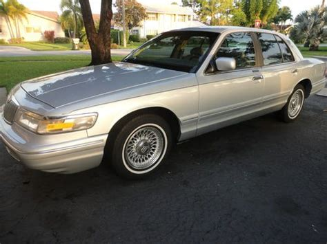 repair anti lock braking 1997 mercury grand marquis navigation system sell used 1997 mercury grand marquis ls sedan 4 door 4 6l in boca raton florida united states