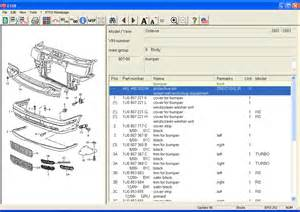 Audi Parts Catalog Audi Volkswagen Vw Seat Skoda Parts Catalogue The