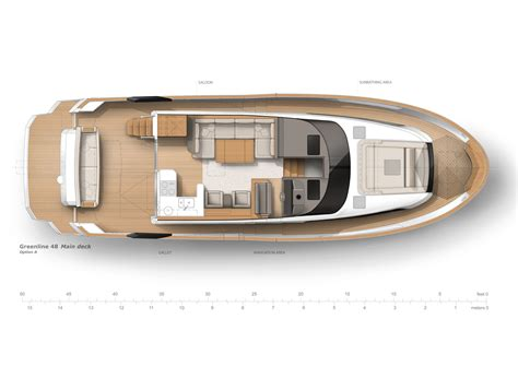 greenline boats greenline 48 fly greenline yachts