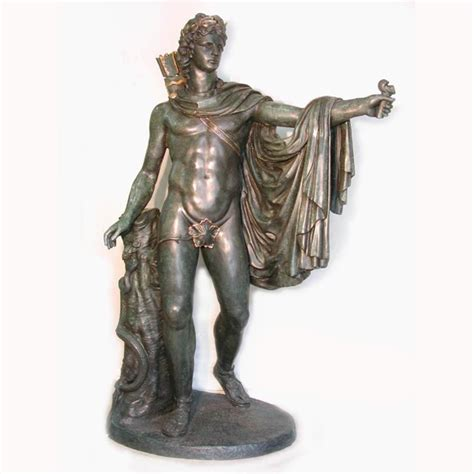 god statue lifesize bronze roman god statue