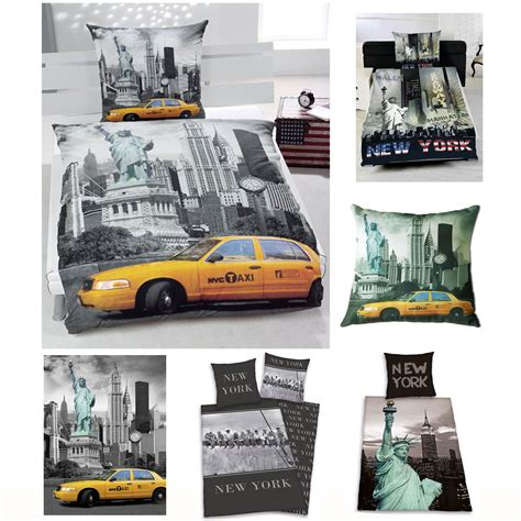 new york bedding new york city bedding bedroom accessories new 100 cotton duvet covers more ebay