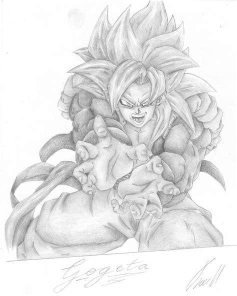 Gogeta Ssj4 Drawing