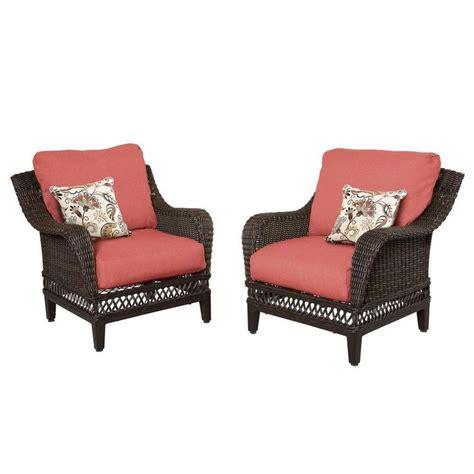 hton bay patio furniture woodbury patio lounge chair
