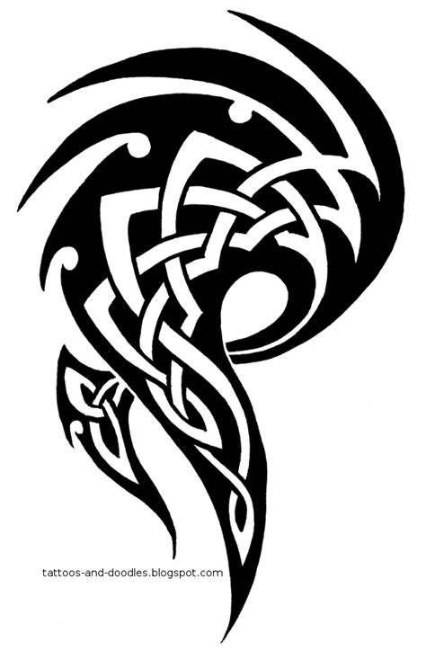 scottish tribal tattoo designs tattoos and doodles tribal celtic
