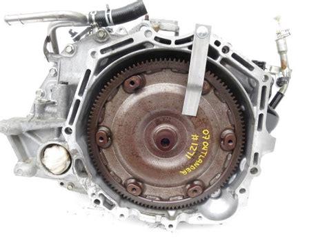 old car repair manuals 2008 mitsubishi outlander transmission control 2007 2008 mitsubishi outlander fwd transmission 2700a060