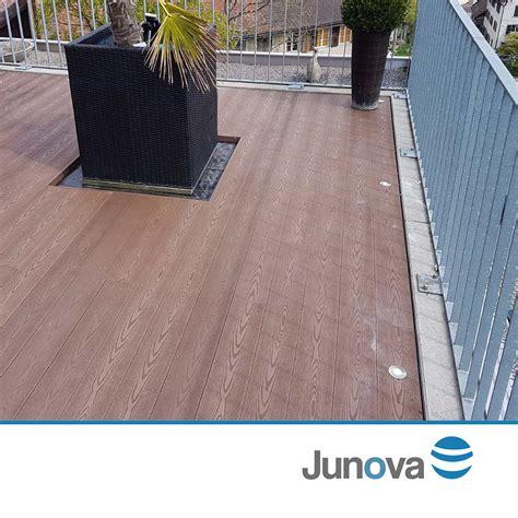 Terrassenboden Wpc by Terrassendiele Braun Wpc Dielen Bei Junova G 252 Nstig Kaufen