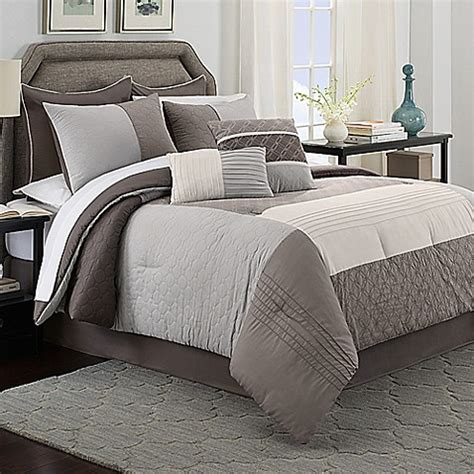 Cortez 8 Piece Comforter Set Bed Bath Beyond Bed Bath Beyond Comforter Sets