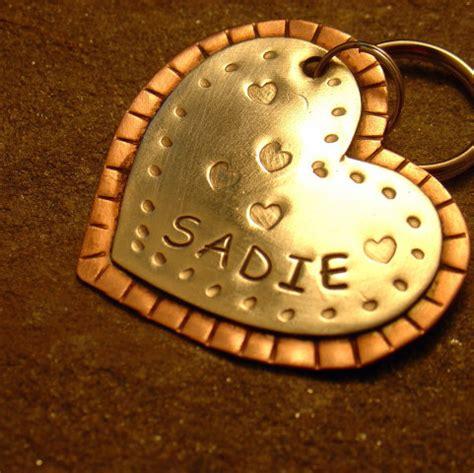 Handmade Id Tags - 5 pet valentines with petslady