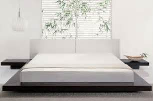 modern style bed easy to build diy platform bed designs