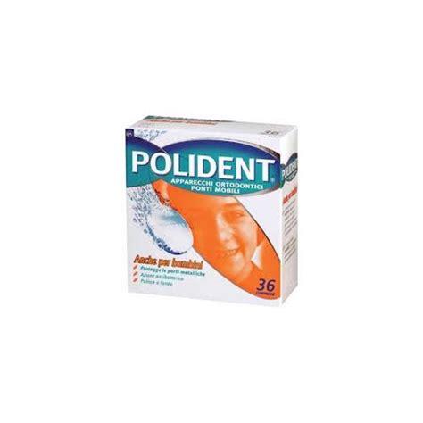 ponti mobili denti polident compresse per la pulizia di apparecchi