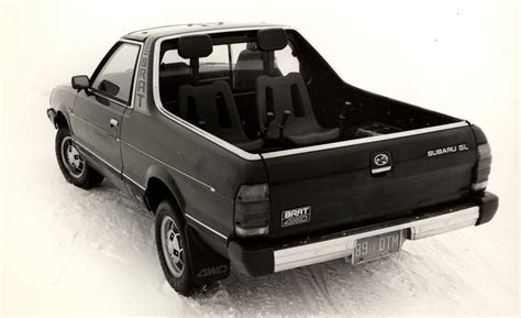subaru truck with seats in bed name that shifter no 27 1982 subaru brat gl car and