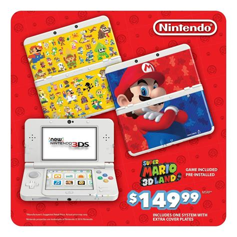 Nintendo 3ds Xl Mario 3d Land Original N3ds mario 3d land edition new nintendo 3ds bundle announced nintendo insider