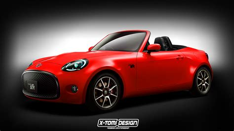 toyota s fr roadster rendering looks like an mx 5 miata
