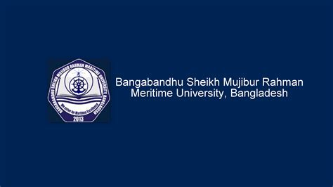 Maritime Mba Usa by Bsmrmu Maritime Mpsm Llm And Mba Admission Notice 2016