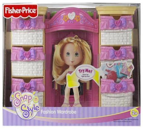 Fisher Price Snap N Style Wardrobe by Snap N Style Fashion Wardrobe Buy Fisher Price Toys