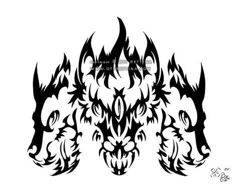 tribal tattoo artist ott bettina