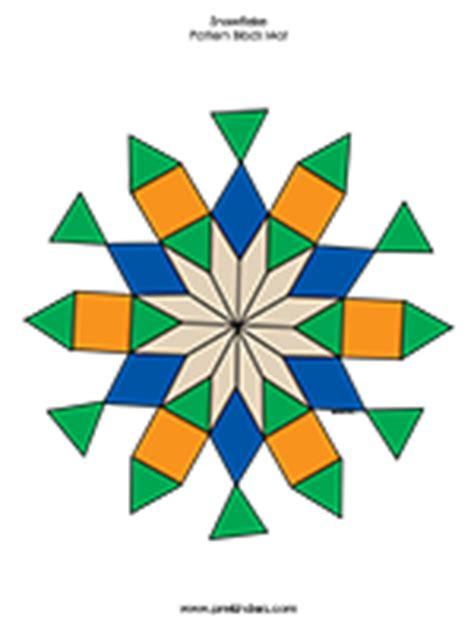snowflake pattern block mat snowflake pattern block mats prekinders