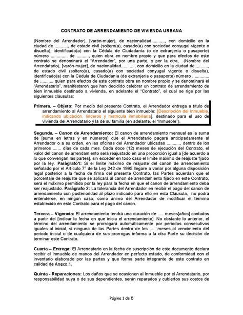 incremento en arrendamientos colombia contrato de arrendamiento de vivienda urbana en colombia