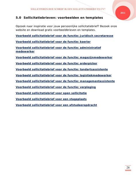ebook solliciteren