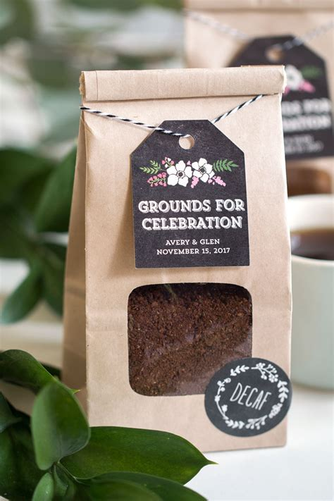 Wedding Favors Coffee by Grounds For Celebration Coffee Wedding Favors