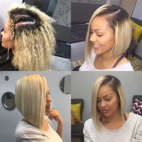 quick weave bobs blonde 1000 images about bob weave on pinterest follow me
