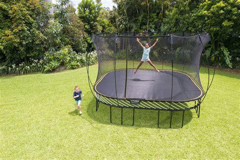springfree    jumbo square smart trampoline