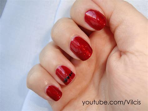 imágenes de uñas rojas con dorado desafio 31 d 237 as d 237 a 1 u 241 as rojas unas de acrilico u 241 as