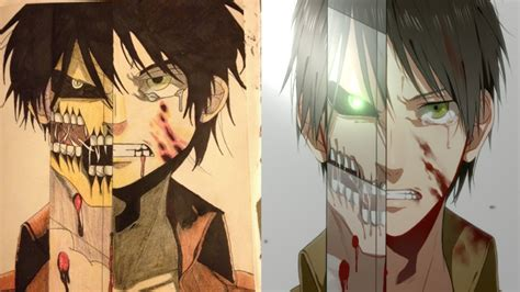 resensi anime attack on titan eren jager attack on titan anime drawing