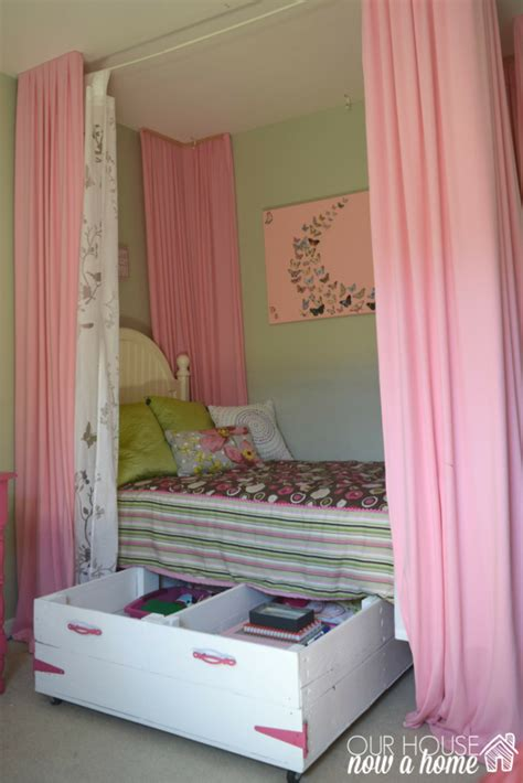 girls bedroom storage ideas home decor archives our house now a home