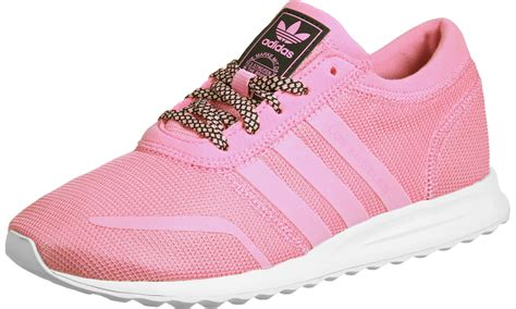 adidas los angeles k w shoes pink white