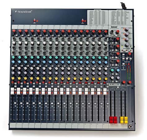 Mixer Soundcraft Fx16ii soundcraft signature 16 or fx16ii which one gearslutz