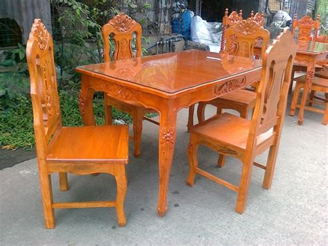 Used Dining Tables On Narra Dining Set Table Wooden Dining Tables 4 S 6 S And 8 S
