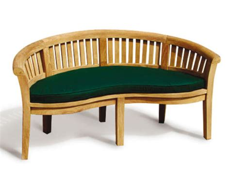 banana bench cushion banana bench cushion lindsey teak