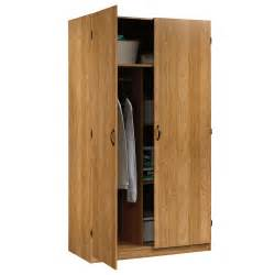 storage wardrobe closet sauder furniture