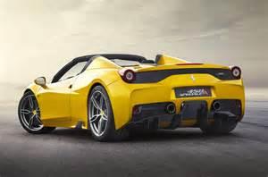 458 Italia Speciale 2015 458 Italia Spider Speciale Aperta Unveiled