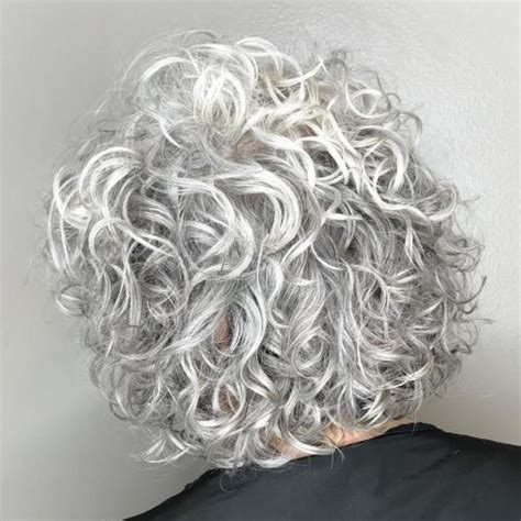 pictures of permed gray or silver hair 50 gorgeous perms looks say hello to your future curls