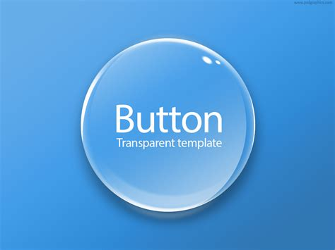 button template psd transparent button psd psdgraphics