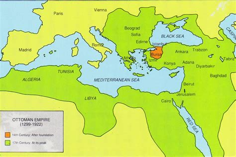 Ottoman Empire Map 1500 The Way I See It June 2013