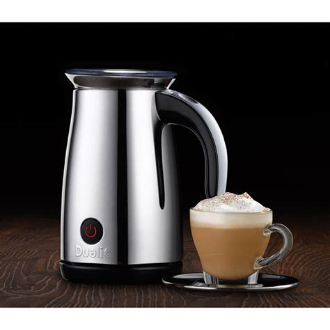 dualit kitchen appliances dualit 84800 milk frother stainless steel iwoot