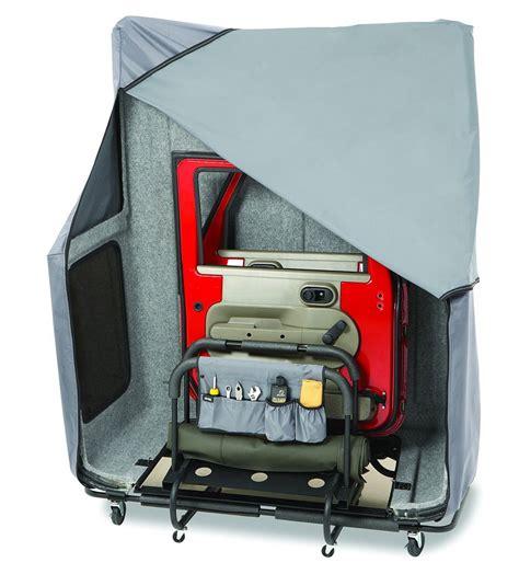 Jeep Storage Bestop Hoss Hardtop Storage System Bestop Jeep Top