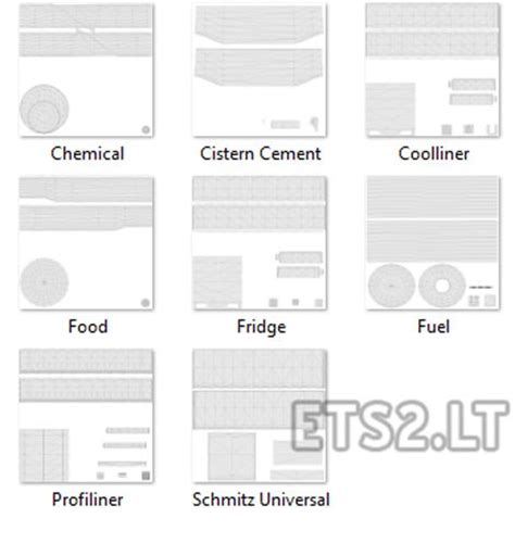 trailer templates template for scs trailers ets 2 mods