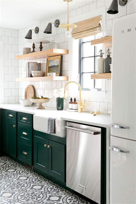 kitchens with shelves green 252 best country green images on pinterest cottages