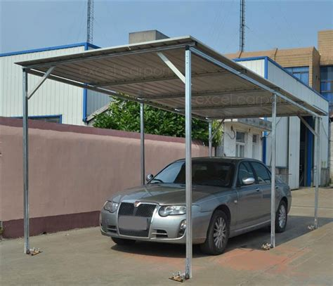 4 Car Metal Carport Vehicle Shelter 2 6m X 6m X 2 8m Steel Carport