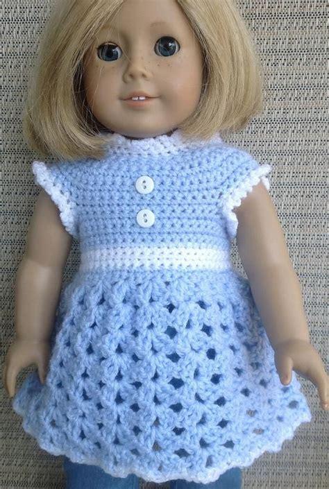 pattern dress doll 1873 best crochet american girl images on pinterest